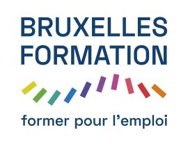 Logo de Bruxelles Formation sur Fond Blanc