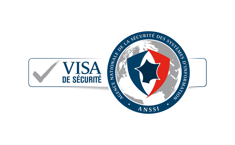 Logo of the ANSSI security visa