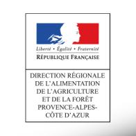 logo direction régionale de l'alimentation, de l'agriculture et de la forêt provence alpes côté d'azur