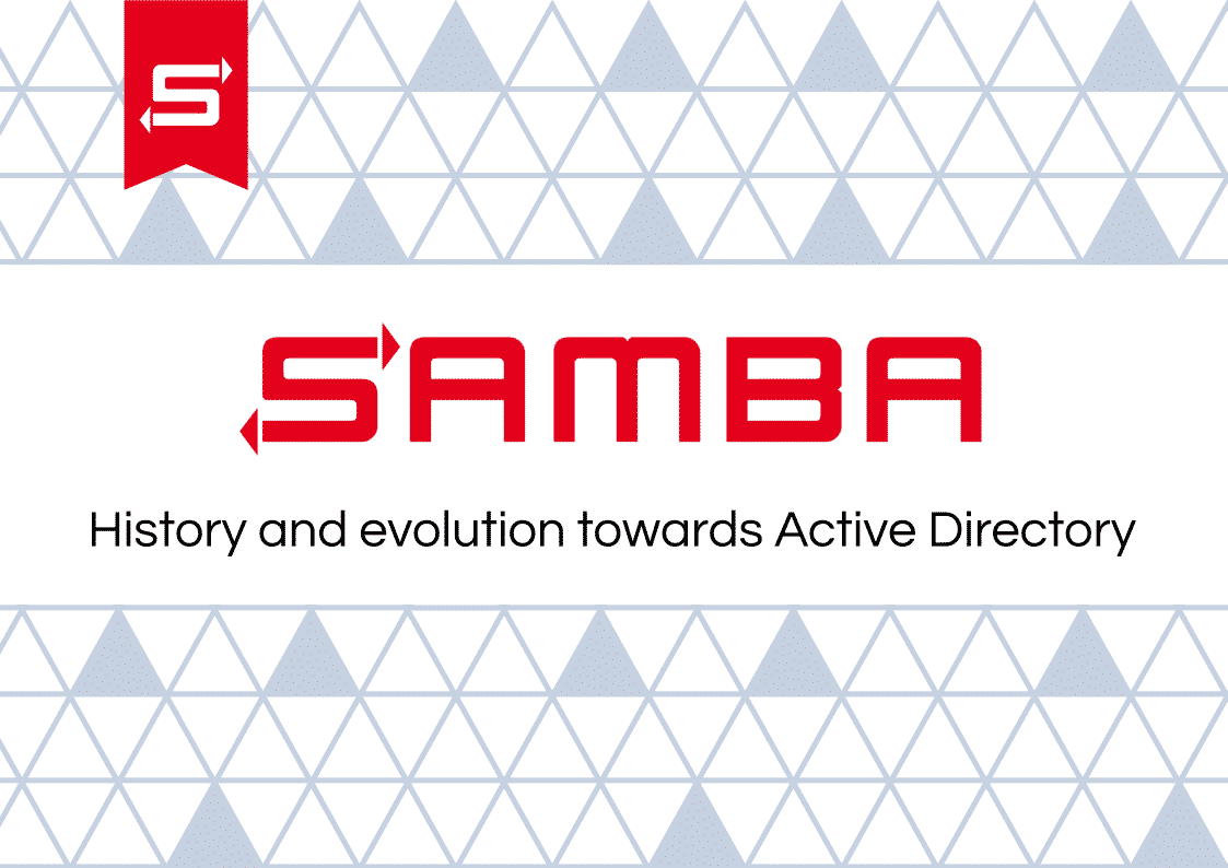 Samba: History and evolution towards Active Directory