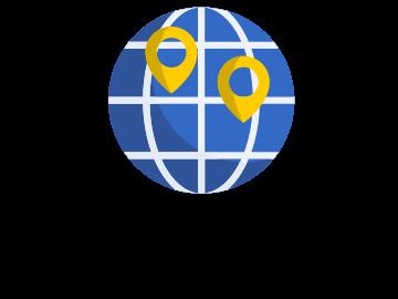 International expansion pictogram