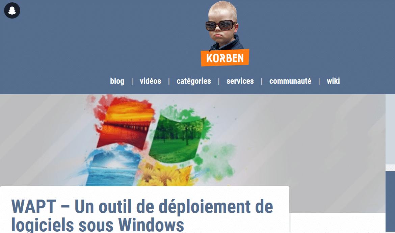 Le blog de Korben
