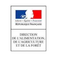logo direction de l'alimentation de l'agriculture et de la forêt