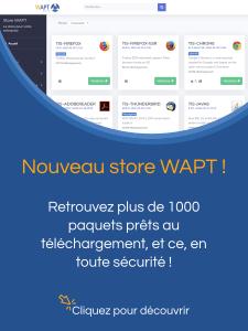 Store WAPT