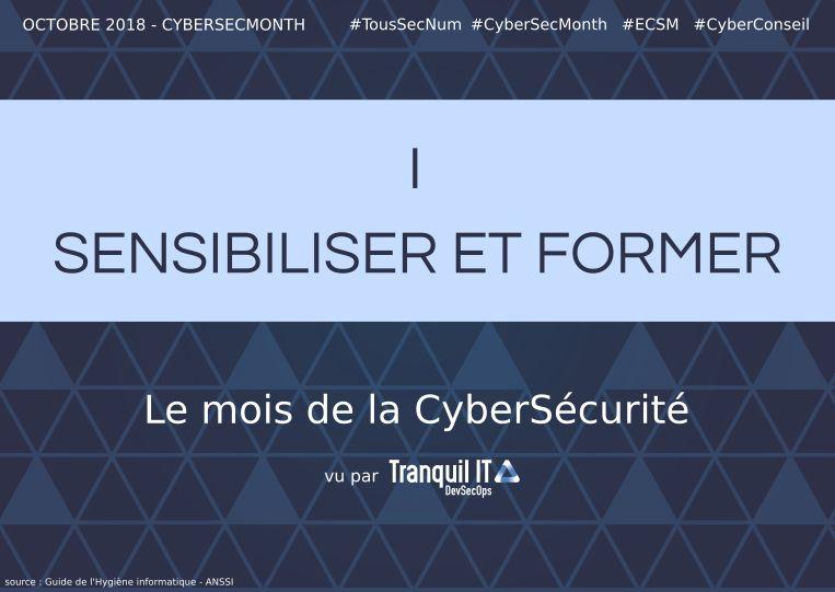 Sensibiliser et former #CyberSecMonth