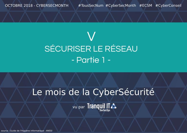 Sécuriser le réseau (partie 1) #CyberSecMonth