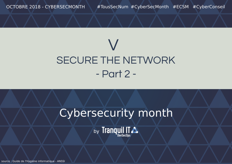 Securing the network (part 2) #CyberSecMonth