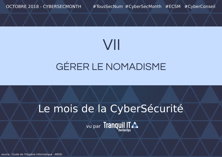 Manage nomandism #CyberSecMonth