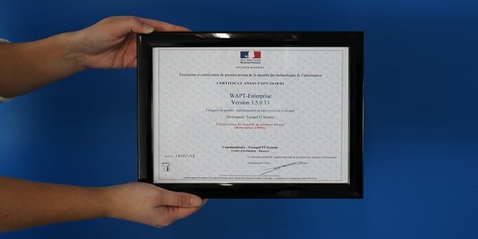 Certification de l'ANSSI
