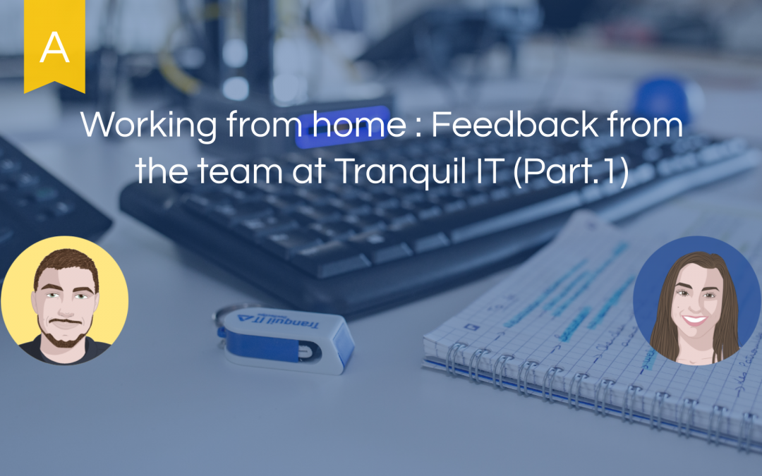 Working from home : Feedback from the team at Tranquil IT (part. 1)
