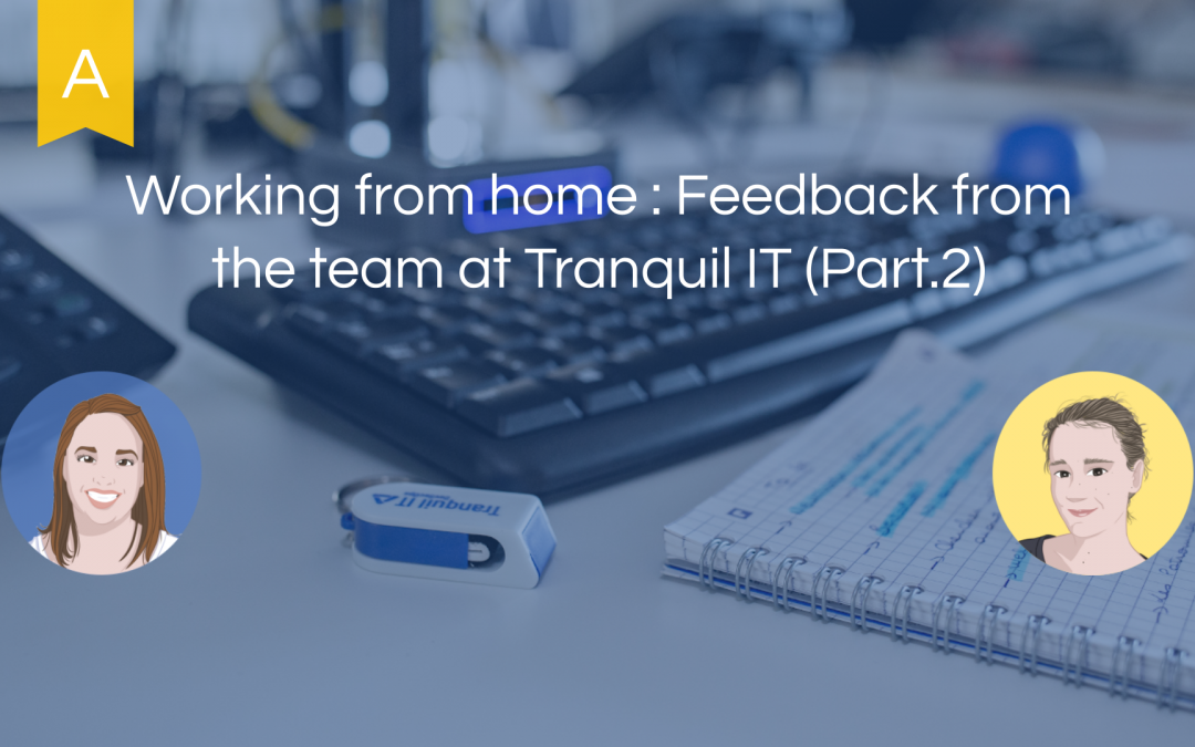 Working from home : Feedback from the team at Tranquil IT (part. 2)